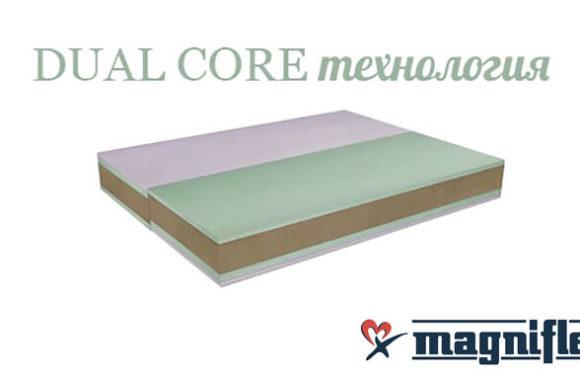 DualCore технологията при матраци Magniflex