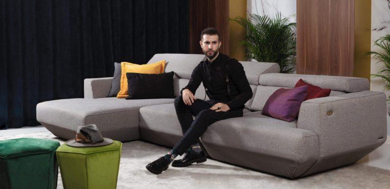 За ВИП облик и на вашата дневна изберете кожена мека мебел от MobilaDalin