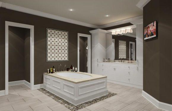 VIP интериор в банята