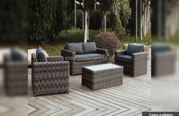 Ратанов диван – за да е по-удобни и приятно в градината